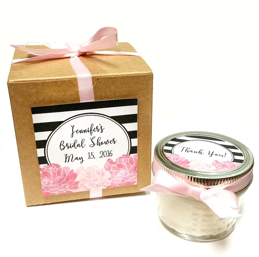 Wedding Favour Gifts: 25 Bridal Shower Favors Wedding Favors Candle Favor