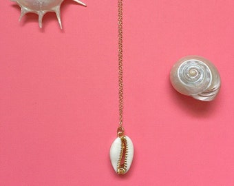 Real Cowrie Shell Necklace