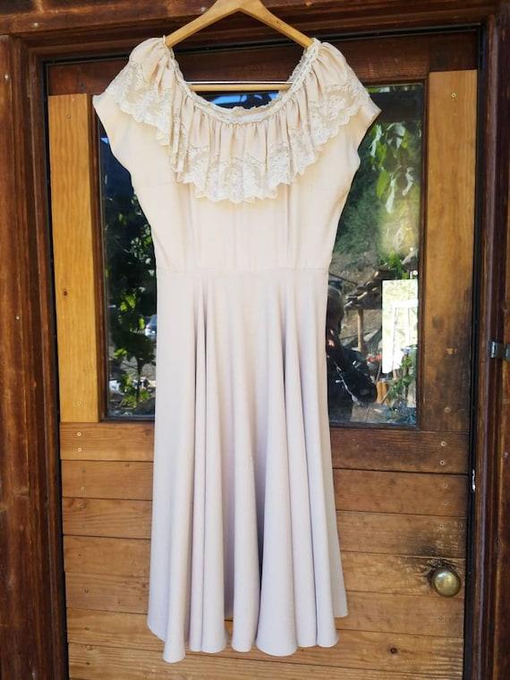 Vintage 1940s Sun Dress