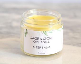Sleep Balm | Natural Sleep Aid | Vegan Sleep Salve | Beeswax Free | Sleep Salve | Sleepy Time Salve | Dream Salve | Sleepytime Salve