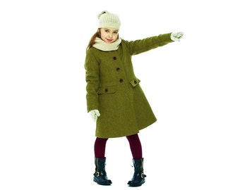0806407e8a7c Girls wool coat
