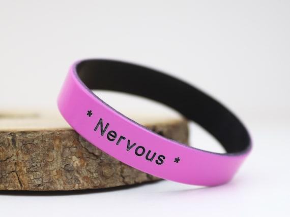 Kids Personalised Wristband Silicone Band Custom Customised Childrens 152mm