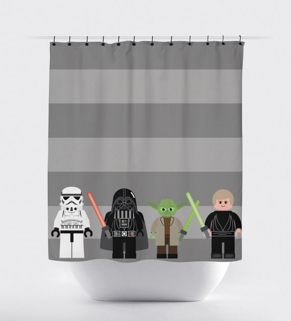 Star Wars Shower Curtain Starwars Jedi