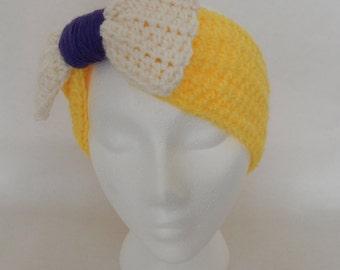 SALE Tarzan Inspired Crochet Headband