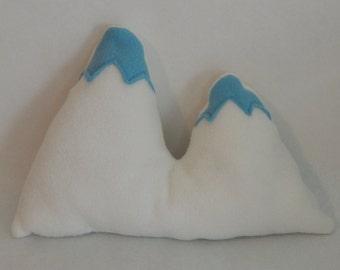 Mt. Everest Mountain Accent Pillow