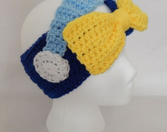 SALE Cinderella Inspired Crochet Headband