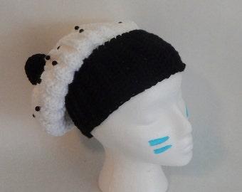 SALE Crochet Slouchy Cookies n' Cream Cupcake Hat