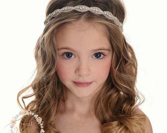 c88ad0fcdb8b Rhinestone bridal headband