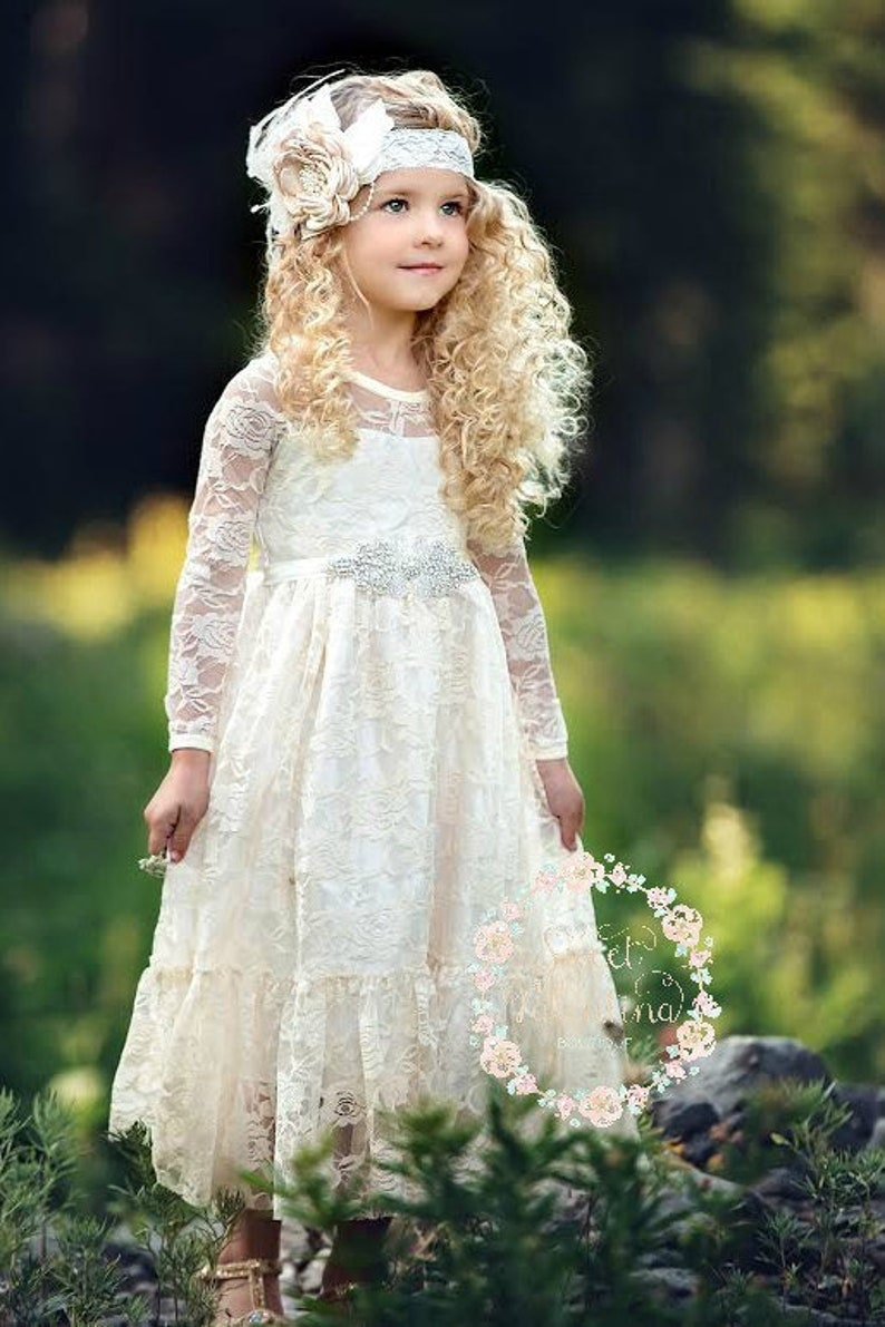 2512036b4e1 Flower girl dressFlower girl dresses flower girl lace