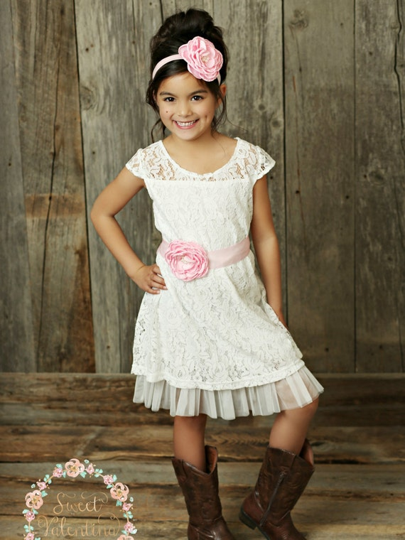 Country Flower Girl Dresses