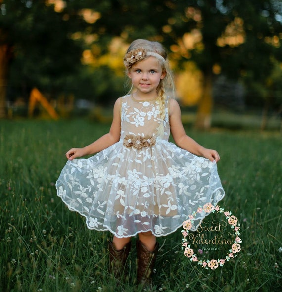3ce27f0671e Girls dress lace flower girl dress girls dress girls lace