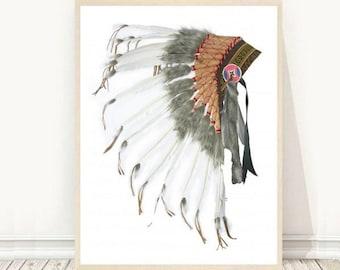 462df663ea7 Native American Headdress