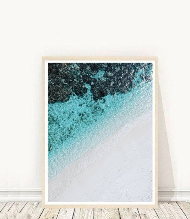 Coastal Print Beach Print Coastal Decor  Printable Art image 0