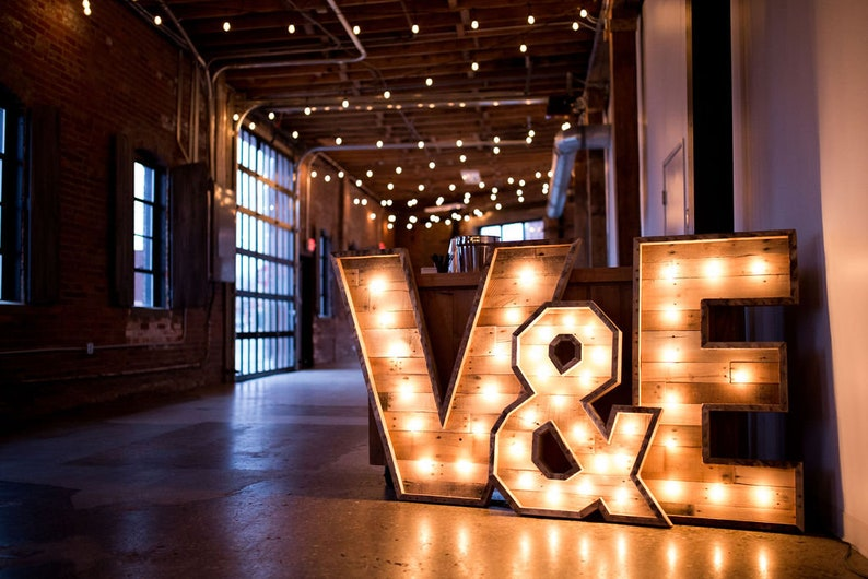 60 Lighted Marquee Letter Large Lighted Letter Letter With Lights Event Sign Illuminated Wedding Letter Restaurant Shop Decor