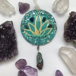 Boho Ornament with Crystals