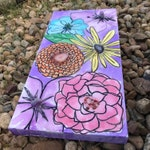 Chakra Bloom painting on canvas
