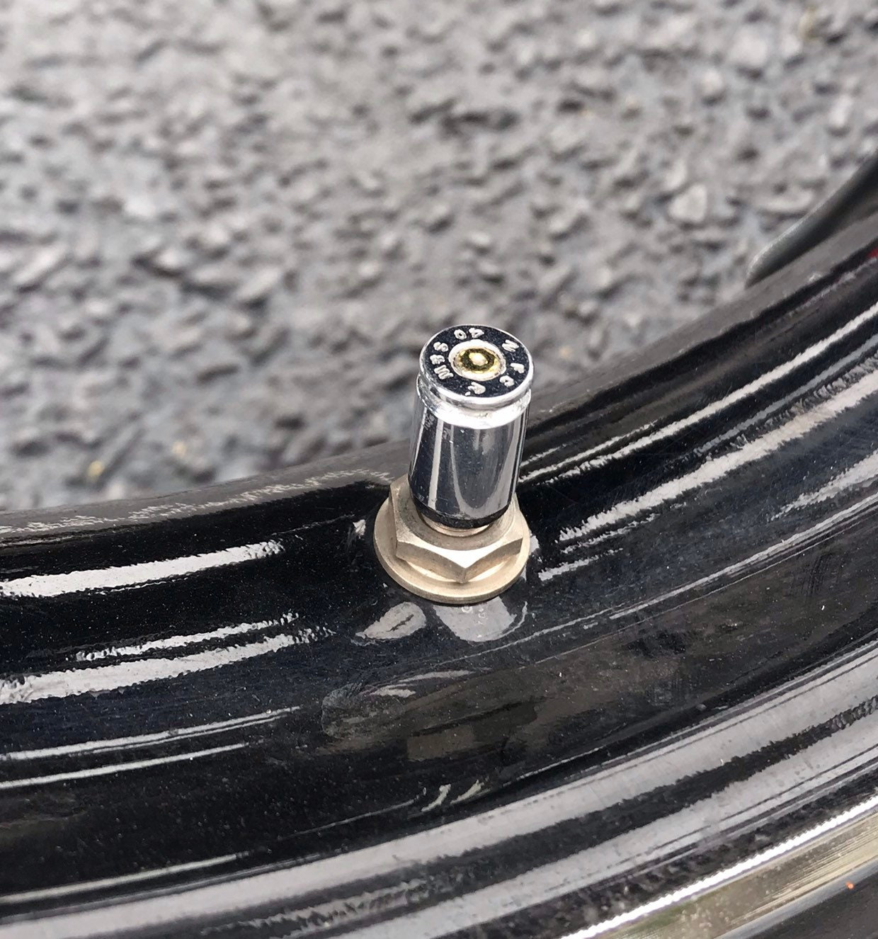 Bullet Tire valve stem covers - motorcycle - jeep - truck - bicycle