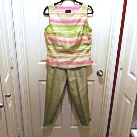 Vintage Pantsuit, Women's Pantsuit, Business Suit,