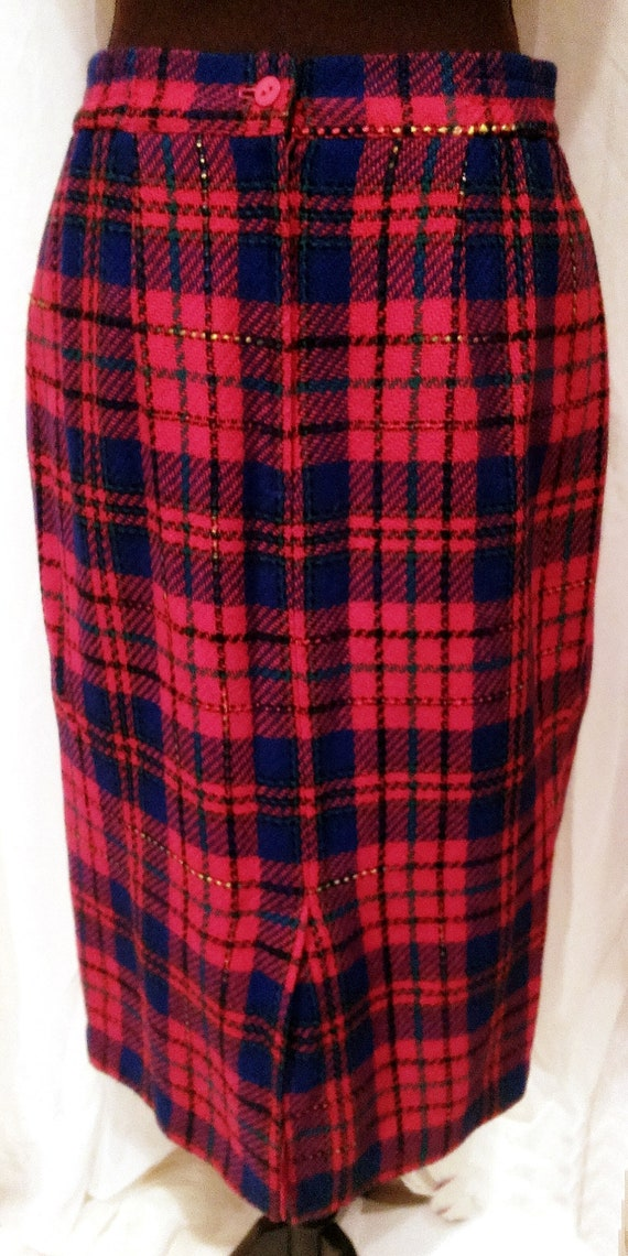 bc150d74e Joan Leslie Plaid Skirt Women's Wear Skirts Women's | Etsy