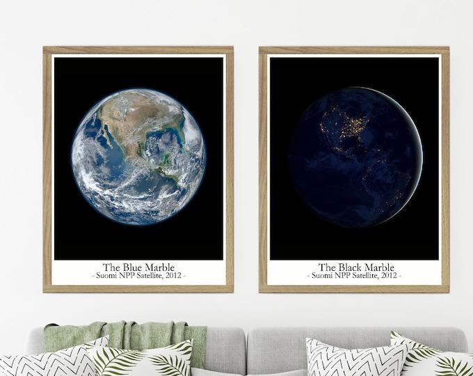 The Blue Marble Photo The Black Marble Photo Nasa Photos of Earth 2012