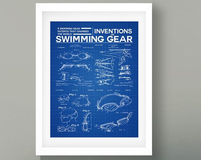 Swimming Wall Art Swimming Pool Poster