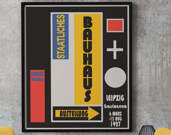 Bauhaus Exhibition Poster from 1927