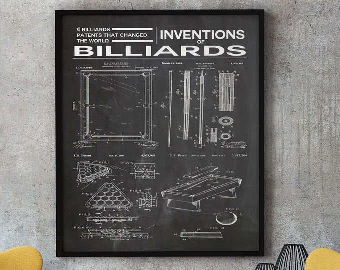 Inventions of Billiards Billiard Table Game of Billiards - Win 11