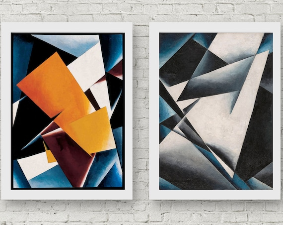 Geometric Abstract Art Modern Abstract Art Modern Painting Abstract Wall Art Abstract Decor Abstract Print Abstract Poster by Lyubov Popova
