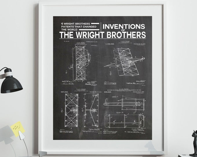 Wright Brothers Aviation Inventions Wright Brothers Blueprints