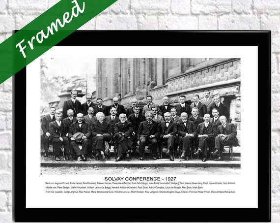 Fifth Solvay International Conference Physics Poster Chemistry Poster