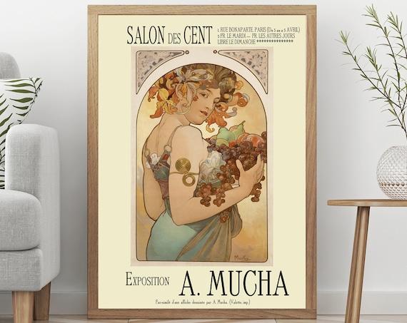Alphonse Mucha Exhibition Poster Art Nouveau poster