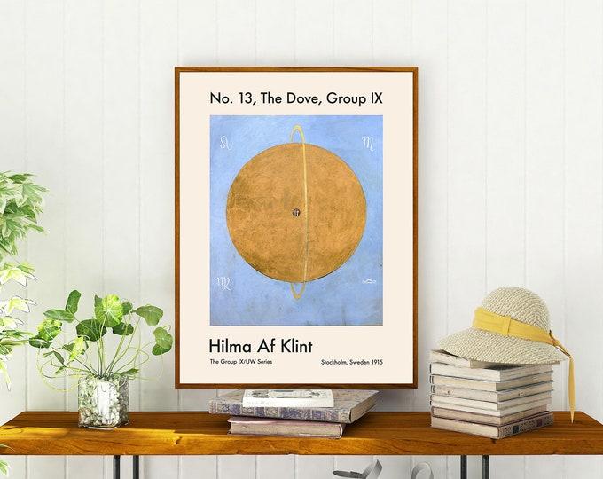No. 13, The Dove, Group IX Hilma Af Klint Abstract Art Print