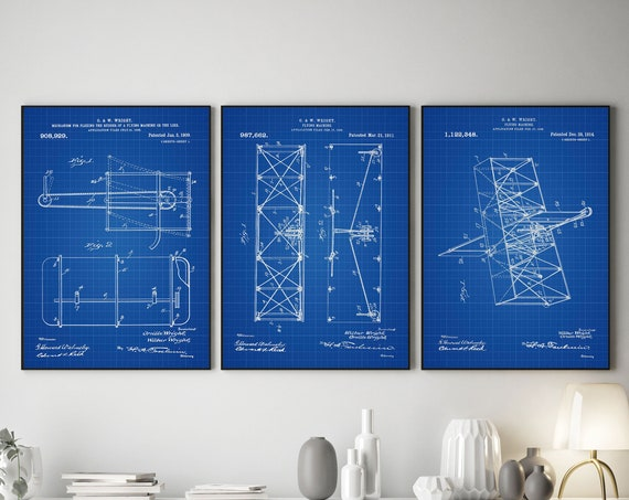 Aviation Inventions of the Wright Brothers Flying Machine Patent