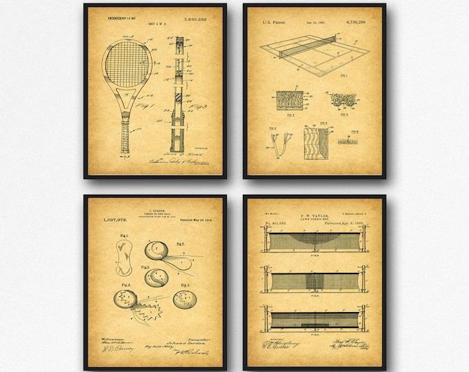 Tennis Posters Tennis Player Art Tennis Decor WB104
