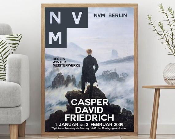 Casper David Friedrich Exhibition Poster Museum Decor