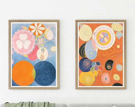 Beautiful Abstract Paintings by Hilma of Klint Scandinavian Abstract Art