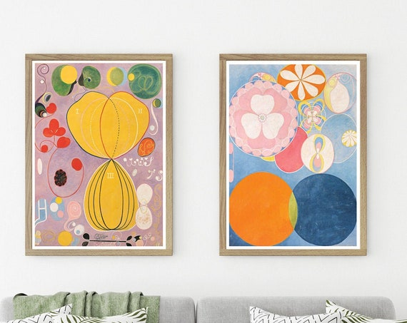 Modern Abstract Art Prints Abstract Art by Hilma of Klint