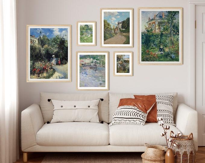 Gallery Print Set of Pastoral Paintings Set of 6 Gallery Wall Set