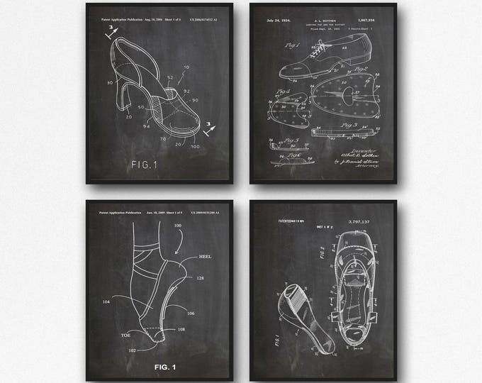 Dance Studio Posters Dance Shoes Poster Tap Dance Shoes Decor Jazz Shoes Dance Studio Wall Art Dance Studio Decor Dance Posters  WB202
