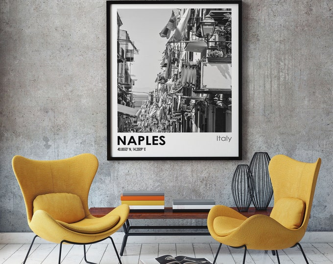 Naples Travel Poster Naples Photo Print Naples Travel Art