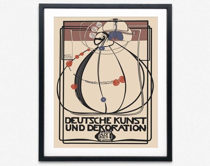 Glasgow Style Deutsche Kunst und Dekoration 1902 by Margaret MacDonald Mackintosh