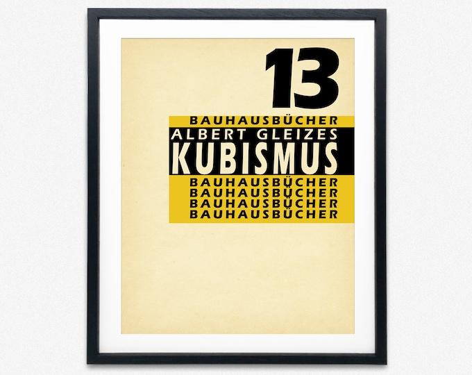 Vintage Bauhaus Poster Bauhaus Exhibition Art 1923