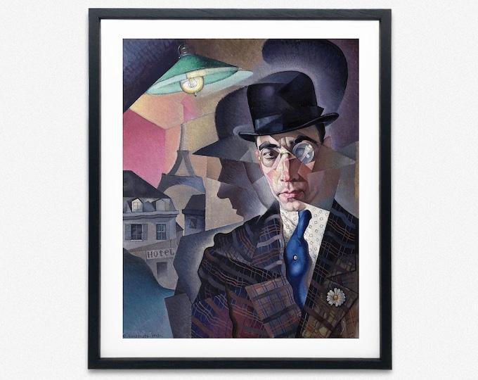 Yury Annenkov - Portrait of Miron Abramovich Sherlin