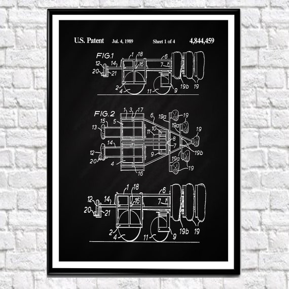 Rugby Poster Scrummaging Machine Scrum Machine Patent Print New Zealand Rugby Union Patent Print Rugby Print Rugby Gift Sport All Blacks