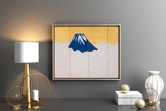 Mount Fuji Painting Modern Japanese Art