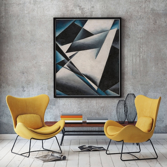 Modern Abstract Oil Painting Painterly Architectonics by Lyubov Popova 1919 Abstract Art Abstract Wall Art Abstract Design Abstract Decor