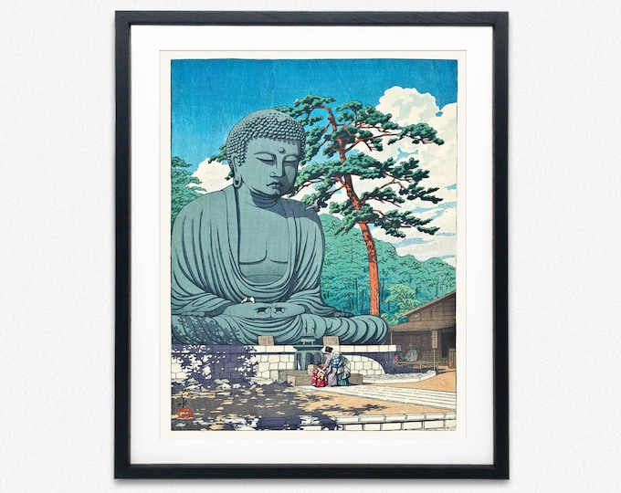 Buddha Art print Buddha Poster Buddhist Art Print