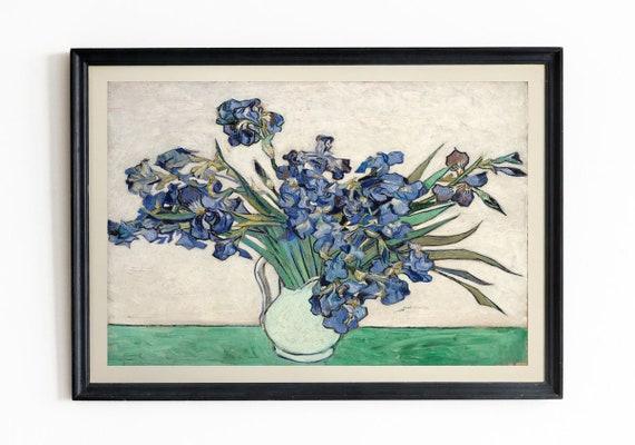 Vincent Van Gogh Irises 1890 Van Gogh Painting Van Gogh Art Van Gogh Wall Art Van Gogh Prints Van Gogh Poster Van Gogh Decor Flower Wall Art