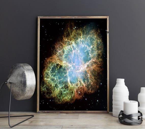 Nebula Poster Space Nebula Wall Art Outer Space Poster Outer Space Print Space Photo Nebula Photo Hubble Telescope Photo Hubble Wall Art