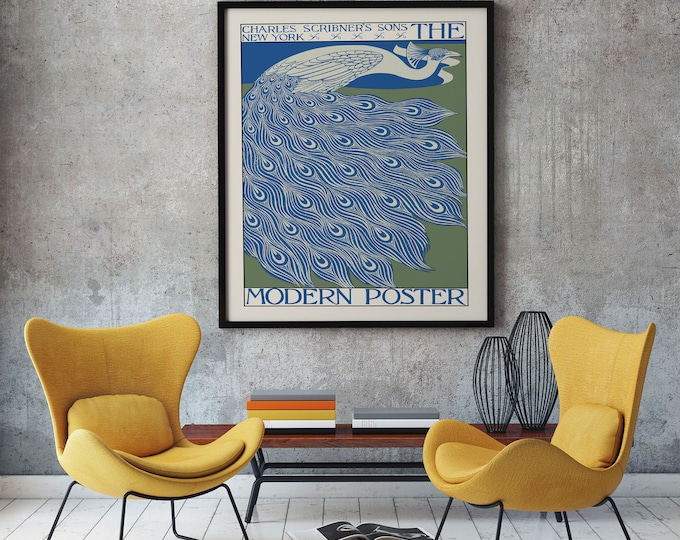 The Modern Poster by William Bradley Peacock Wall Art